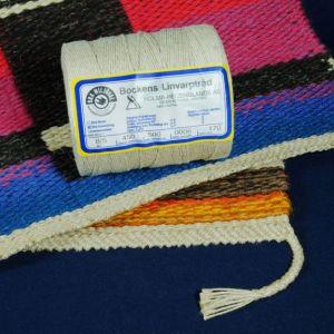 Vävstuga 8 5 Linen Rug Warp Unbleached
